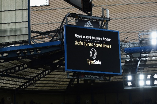 TyreSafe - big screen Chelsea
