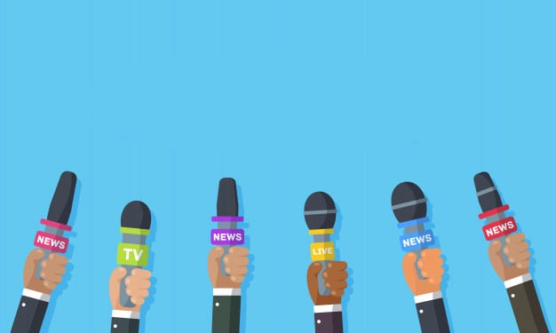 interviews-are-journalists-news-channels-radio-stations-microphones-hands-reporter-press-conference-idea-interviews-latest-news-recording-with-camera-illustration_167581-526