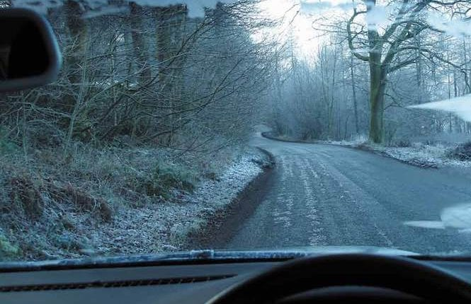icy driving