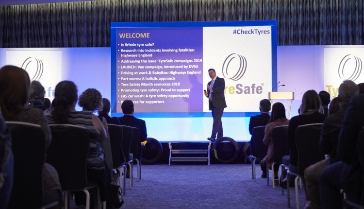 Images from the Tyre Safe briefing conference and Tyre Safe Awards 2019
