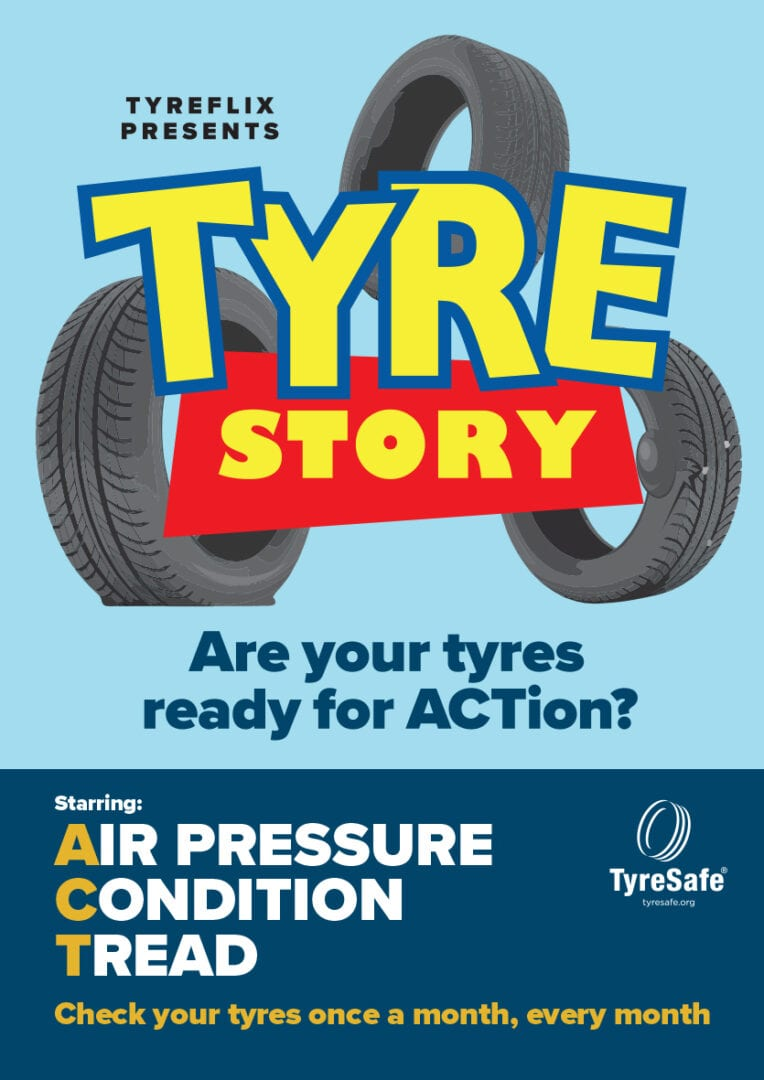 Tyre Story A2 Poster 1