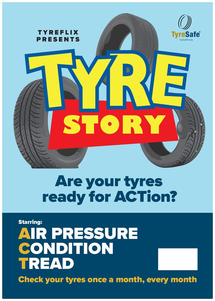 Tyre Story A2 Posters 2