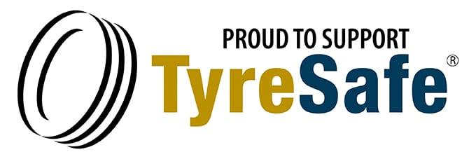 TyreSafe_Logo_Proud to support_NS_Landscape