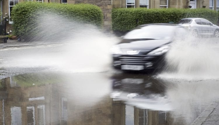 TyreSafe aquaplaning importance of tread depth